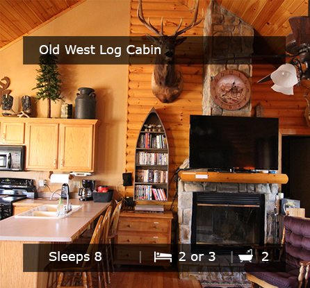 The Old West Log Cabin - Vacation Rentals Branson MO
