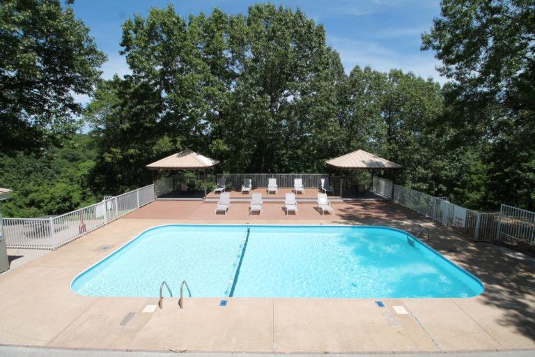 Pool #2 at Notch Estates