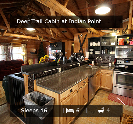 Deer Trail Log Cabin - Vacation Rentals Branson MO