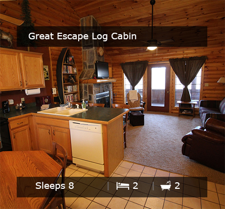 Great Escape Vacation Rentals Branson MO
