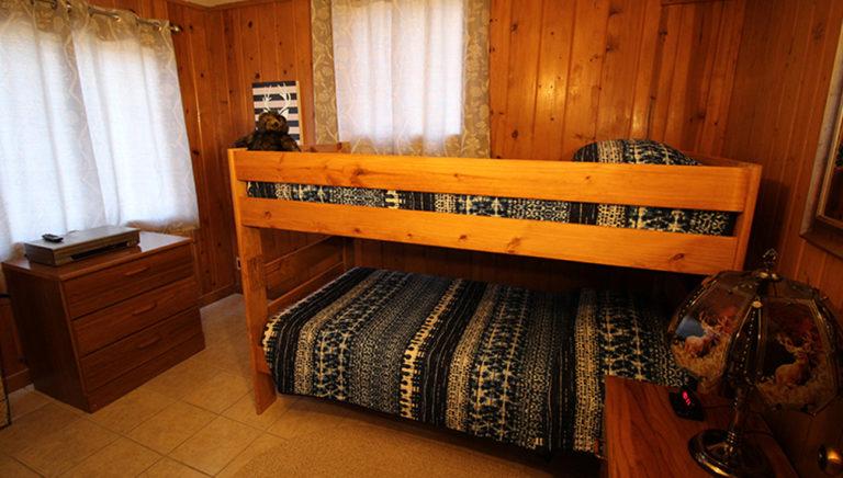 Bunk Beds #1 Deer Trail Log Cabin