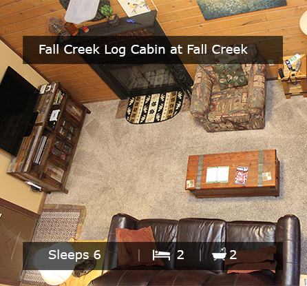 Fall Creek Log Cabin - Vacation Rentals Branson MO