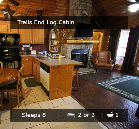 Trails End Log Cabins - Vacation Rentals Branson MO