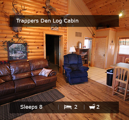 Trappers Den Log Cabin - Vacation Rentals Branson MO